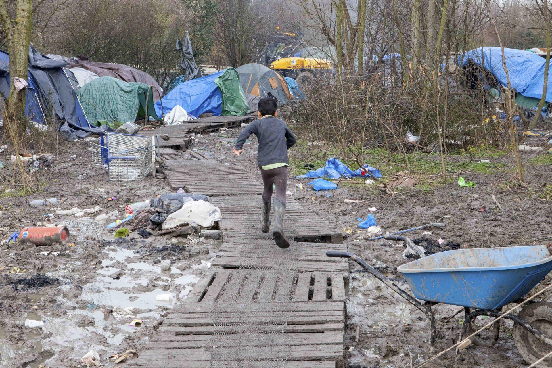 Camp De Réfugiés de Grande-Synthe