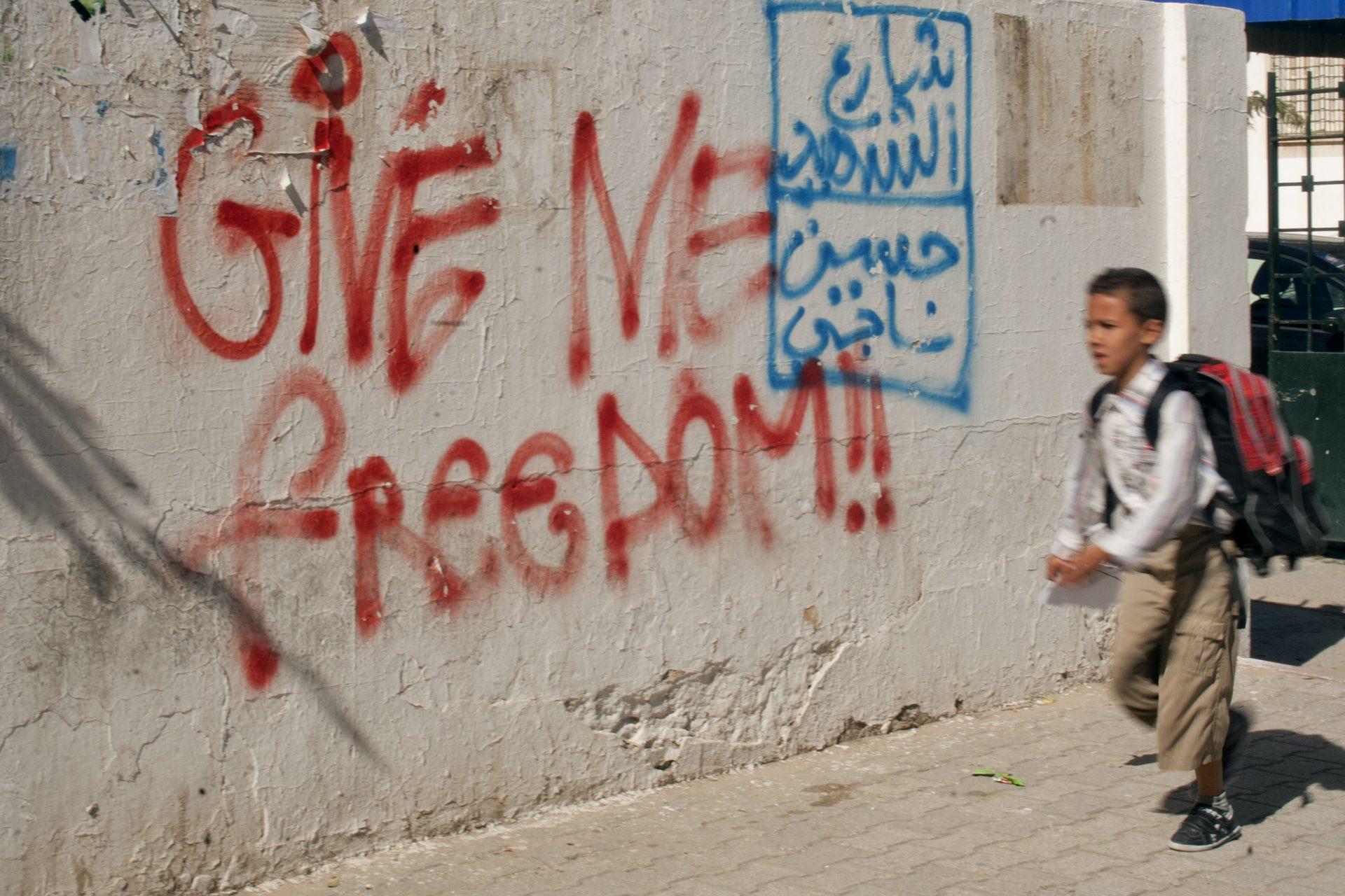 Sur les traces de la révolution // Tunisie