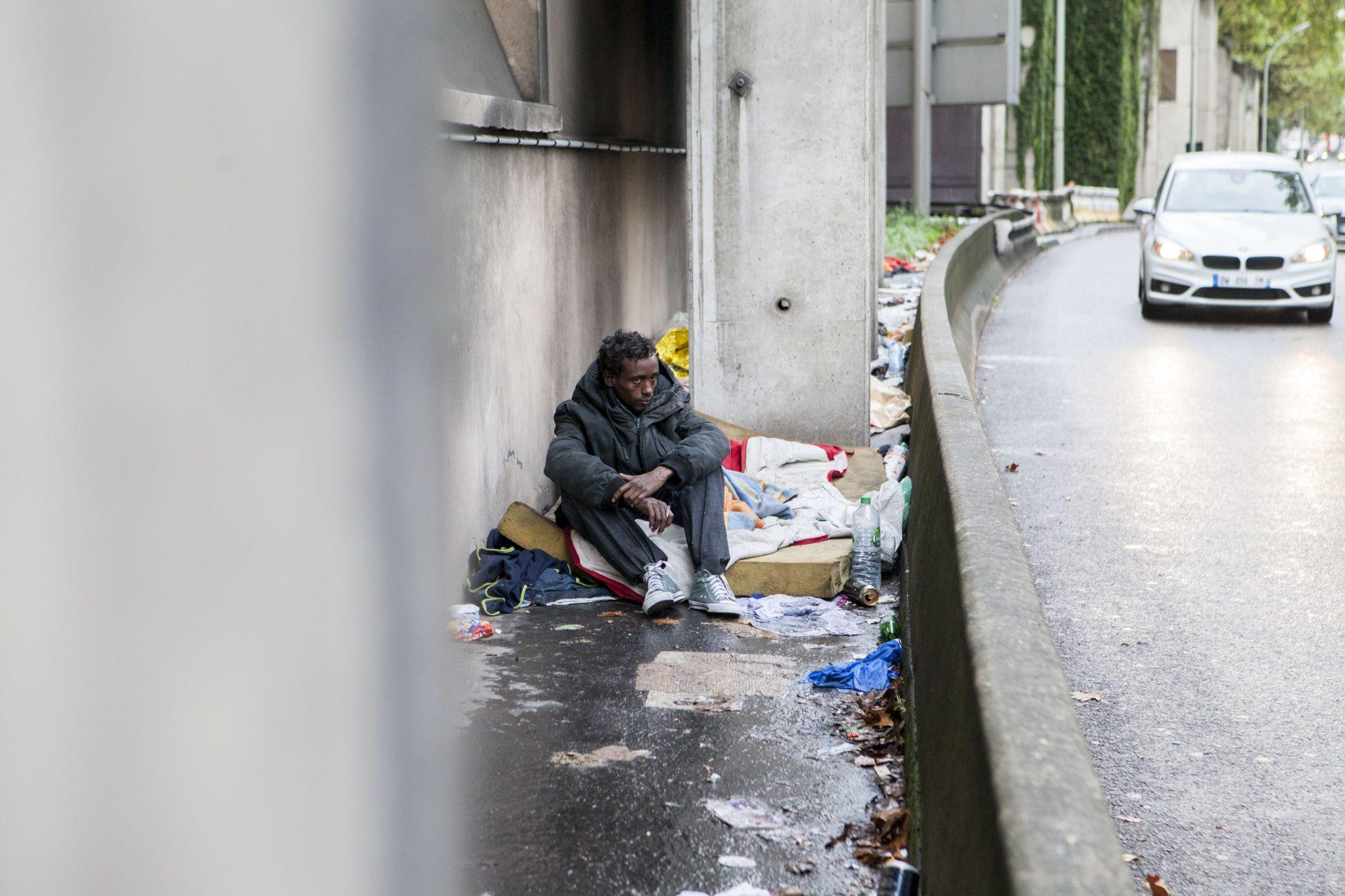 L'errance des migrants // Paris